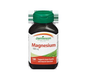 Image 3 of product Jamieson - Magnesium 100 mg, 100 units