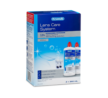 Image of product Personnelle - Lens Care System, 2 x 360 ml