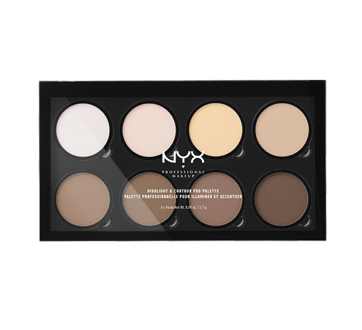 Highlight & Contour Pro Palette, 2.7 g