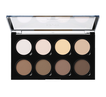 Image 2 of product NYX Professional Makeup - Highlight & Contour Pro palette, 1 unit