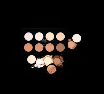 Image 4 of product NYX Professional Makeup - Highlight & Contour Pro palette, 1 unit