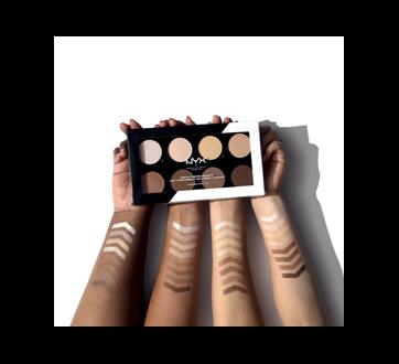 Image 6 of product NYX Professional Makeup - Highlight & Contour Pro palette, 1 unit