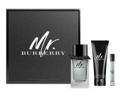 Image of product Burberry - Mr Burberry Gift Set, 3 units
