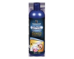 Image of product Innovation - Blue Shimmer shampoo Argan oil, 500 ml