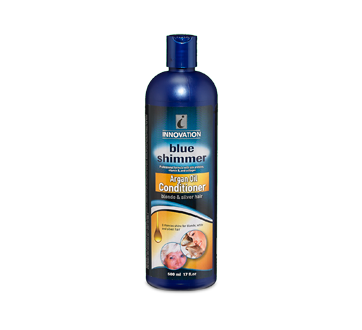 Image of product Innovation - Blue Shimmer Conditioner Argan oil, 500 ml