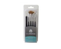 Image of product Nail Création - Brush Kit for Manicure, 5 units
