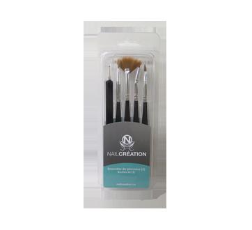 Brush Kit for Manicure, 5 units