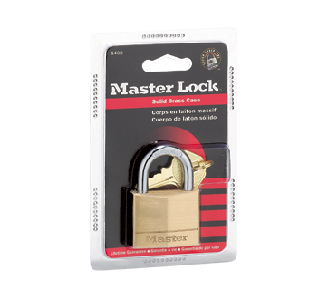 Image of product Master Lock - Solid Brass Padlock, 1 unit