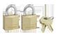 Thumbnail of product Master Lock - Solid Brass Keyed Alike Padlocks, 2 units
