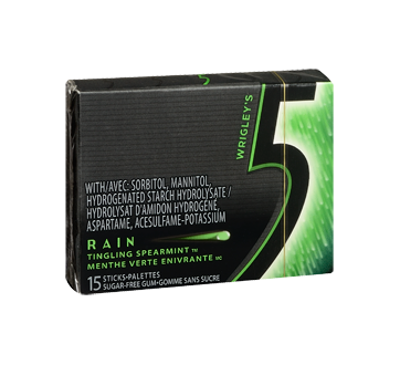 Image 2 of product 5 - Rain Gum, 15 pieces, Tingling Spearmint