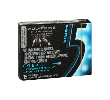 Image 2 of product 5 - Cobalt Gum, 15 pieces, Cooling Pepermint