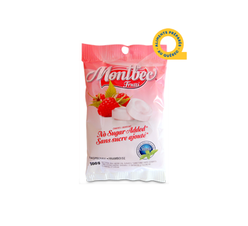 Image of product Mont-bec - Sugar-Free Raspberry, 100 g