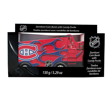 Montreal canadiens zamboni flashing coin bank candies set 150 g montreal canadiens zamboni flashing coin bank candies set 150 g prinsesfo Image collections