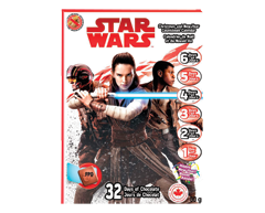Image of product Star Wars - Christmas and New Year Countdown Calendar, 50 g
