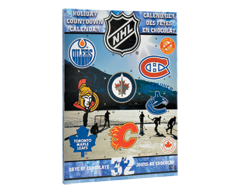 Image of product NHL - Christmas and New Year Countdown Calendar, 50 g