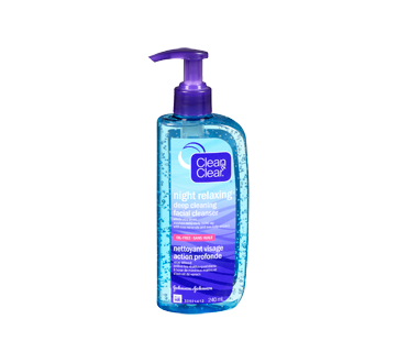 Image 3 of product Clean & Clear - Night Relaxing Deep Cleaning Facial Cleanser, 240 ml