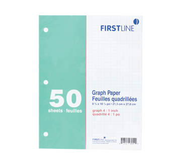 Graph Paper, 1 pack