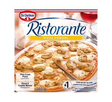 Image of product Dr. Oetker - Ristorante Pizza, 365 g, Funghi