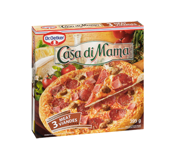 Image 2 of product Dr. Oetker - Casa Di Mama Frozen Pizza, 395 g, 3 Meat