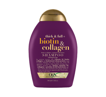 biotin and Collagen, Shampoo , 385 ml