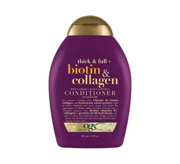 biotin and Collagen, Conditioner, 385 ml