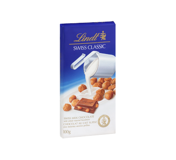 Image 2 of product Lindt - Swiss Classic Milk Chocolate, 100 g, Hazelnut