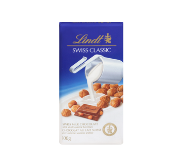 Image 3 of product Lindt - Swiss Classic Milk Chocolate, 100 g, Hazelnut
