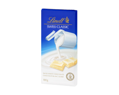 Image of product Lindt - Lindt Swiss Classic White Chocolate, 100 g