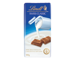 Image of product Lindt - Swiss Classic Chocolate Milk, 100 g