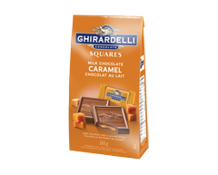 Image of product Lindt - Ghirardelli Chocolate Squares, 166 g, Milk Chocolate Caramel