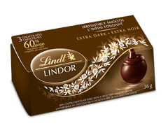 Image of product Lindt - Lindor 60% Cacao Chocolate, 36 g