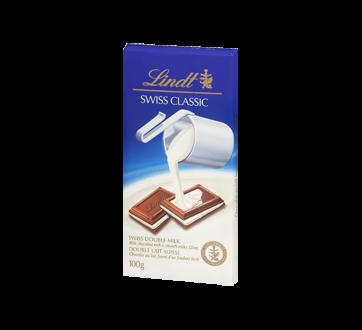Lindt Swiss Classic Double Milk Chocolate, 100 g