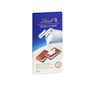 Image 2 of product Lindt - Lindt Swiss Classic Double Milk Chocolate, 100 g