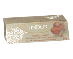 Image of product Lindt - Lindor Assorted Chocolate, 36 g