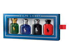 Image of product Ralph Lauren - World of Polo Multifragrances Discovery Set, 4 x 15 ml