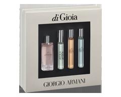 Image of product Giorgio Armani - Acqua di Gioia Multifragrances Miniature Gift Set, 4 units