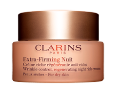 Image of product Clarins - Extra-Firming Nuit Wrinkle Control Regenerating Night Rich Cream, 50 ml, Dry Skin