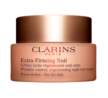 Extra-Firming Nuit Wrinkle Control Regenerating Night Rich Cream, 50 ml, Dry Skin