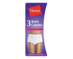 Image of product Hanes - Cotton Brief, Medium, White