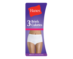 Image of product Hanes - Cotton Brief, Large, White