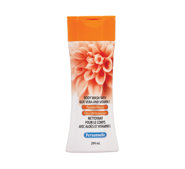 Image of product Personnelle - Body Wash with Aloe Vera And Vitamin E, Passion Flower, 399 ml