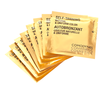 Self-Tanning Natural & Uniform Color, 8 wipes