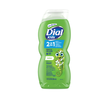 Dial Kids Body + Hair Wash Watery Melon, 355 ml