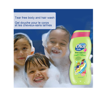 Image 2 of product Dial - Dial Kids Body + Hair Wash Watery Melon, 355 ml