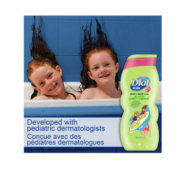 Image 4 of product Dial - Dial Kids Body + Hair Wash Watery Melon, 355 ml
