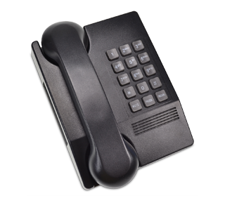 Touchtone Telephone, 1 unit, Black