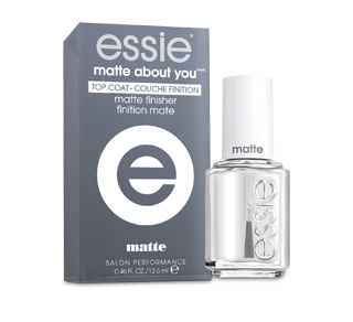 Matte About You Top Coat, 13.5 ml – Essie : Nail care