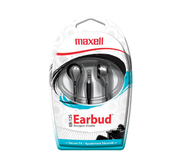 Stereo EB-125 Ear Buds, 1 unit