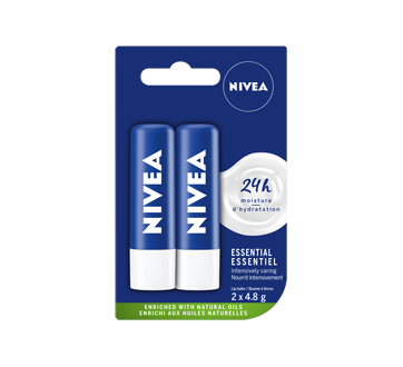Image 1 of product Nivea - Lip Balm - Essential Duo Pack
