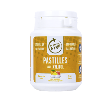 Pastilles 100% Xylitol, 130 units, Fruit